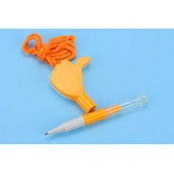 Ручка -  игрушка № 590 ( Со свистком )
