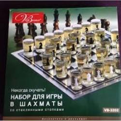 "Игра настольная ""Набор питейных шахмат"""
