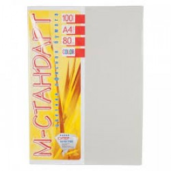 Бумага A4 'М-Стандарт ' ИНТЕНСИВ 100л/80гр  № 272 (Platinum ) Светло-серый