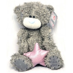 Игрушка №21-Т Мишка (плюшевый) со звездой 20см / 2вида