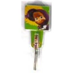 Ручка  детская № 291+бум/зап (в подарочной упаковке) Маша и Медведь