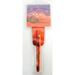 Ручка  детская № 289+бум/зап (в подарочной упаковке) Тачки