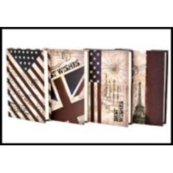Блокн. GYBW15-12 (9.7*14) Американский флаг =линия