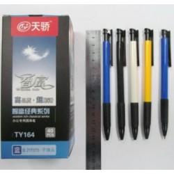 Ручка  авт  Tianjiao TY-164  0.7mm