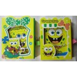 Блокн. на зам. в подарочной коробке (64К) № 64K-101/С015  Sponge Bob