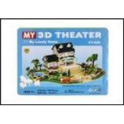 Пазлы 3D картон №XY-626 Мой любимый дом