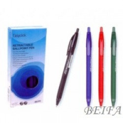 Ручка масл Beifa TB139400 (0.5mm) трехгранная/автомат /12уп,144бл,1728ящ