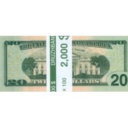"""Пачка денег (сувенир) №011 Доллары """"20"""""""