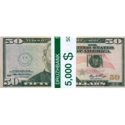 """Пачка денег (сувенир) №012 Доллары """"50"""""""