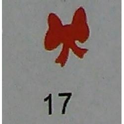 Дырокол фигурный для детск. твор. JF-823C № 17 Бант (стр 11-12)