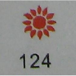 Дырокол фигурный для детск. твор. JF-823C № 124 Подсолнух(стр 11-12)