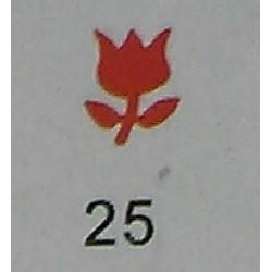 Дырокол фигурный для детск. твор. JF-823C № 25 Тюльпан (стр 11-12)