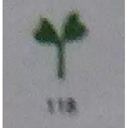 Дырокол фигурный для детск. твор. JF-822 №118 Растение