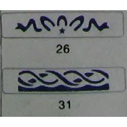 Дырокол фигурный для детск. твор. JF-829M №26 (cтр18-19)