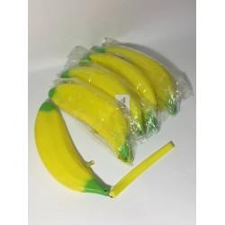 """Пенал сум. 1 отд. 301-7 """"Банан"""" силикон. 15*8см, 3цв."""