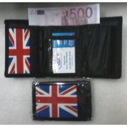 Кошелечек детский №241/241-2Английский флаг 12,5*11см