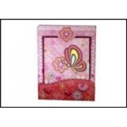 Блокн. на зам. в подарочн.упаковке   64205-B Бабочки