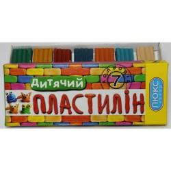 """Пластилин  """"Люкс Колор"""" ДЕТСКИЙ   7 цв. 150 г.  арт. ПО-150"""