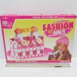 """Конструктор №K1352 пластик 3D 700 деталей  """"Для девочек"""""""