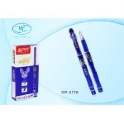 Ручка стираемая гель GP-3176 син (0.38mm) 12уп/1728ящ