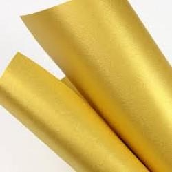 Картон для дизайна А4 180гр, 10л №1088 GOLD YELLOW золотисто-желтый