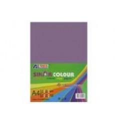 Картон для дизайна А4 180гр, 10л №1087 VIOLET фиолетовый