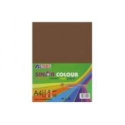 Картон для дизайна А4 180гр, 10л №1090 COFFEE коричневый