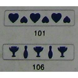 Дырокол фигурный для детск. твор. JF-829M №101 (cтр18-19)