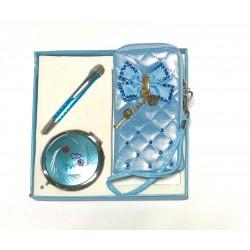 Набор подарочный №11568 ручка+зеркальце+чехол для мобильного