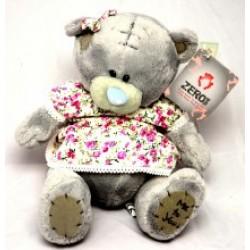 Игрушка №00580 Мишка Тедди в платье (плюшевый) 20см
