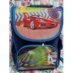 Ранец  №_6984  детский  (короб)  Машинка