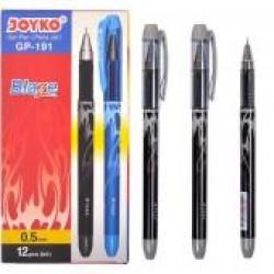 Ручка гел.  Joyko GP-191 (черн) Blaze / 12уп,144бл, 1728ящ