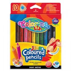 "Kарандаши 10 цв 6282 ""Pencils"" (супер мягкий грифель / с ластиком)"