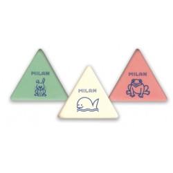 Ластик Milan 3*3 MIGA DE PAN Треугольный (54.5*49*9.5mm) материал-каучук/ предназначен (B-8B)
