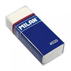 Ластик Milan 4020 MIGA DE PAN прямоугольный (55.5*23.5*13.5mm) материал-каучук/ предназначен (B-8B)