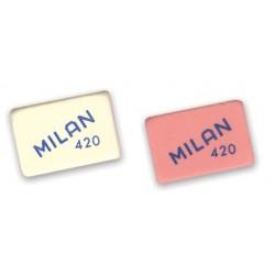 Ластик Milan 420 MIGA DE PAN прямоугольный (41.5*28*13.5mm) материал-каучук/ предназначен (B-8B)