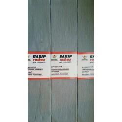 Гофро-бумага 60% 14CZ-027 50*200см, 10шт/уп. светло-серый
