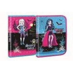 Папка для труда (на змейке) А4 картон № 7508 Scary Fairy