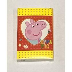 Карты детские (36шт) KR29 Свинка Пепа (красный)