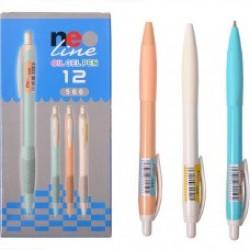 Ручка гелев. масл. Neo Line 5660 (син) /12уп, 144бл, 1728ящ