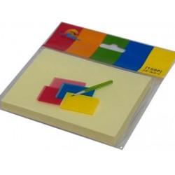 Блок клейкий 76х101 №3102 желтый/12уп,480ящ