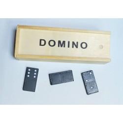 """Игра настольная """"Домино"""" №1532  дерев коробка 3,6*5,5*16,7"""
