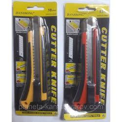 Нож канц. 18мм №2087 (большой) бл-24