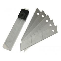 Лезвие для канц ножа (9 мм / набор 10 шт)