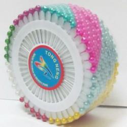 Булавка №11980 / BL0856-2 (480шт,цветные) МЕТАЛЛИК