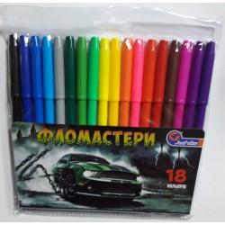 "Флом.  18цв. №828C-18  ""Sport car"" ПВХ"