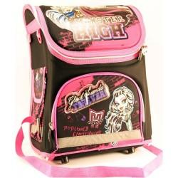 Ранец  №13001-FH Monster hight каркасный раскладной 35х27.5х15