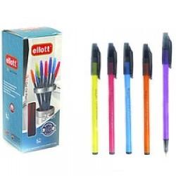 "Ручка масл. 2210 ""Ellott"" микс корпуса (3Q-7mm) /уп25,1000ящ"