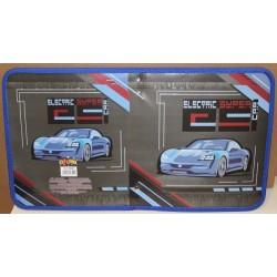 "Папка для тетр.B-5 на змейке (картон)  №14058 ""Electric super car"" Kidis"
