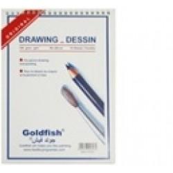 Акварельная бумага В5 15л /140гр.18*26/HA-84 (для сух.и аквар. рис-ния на спирали) drawing dessin